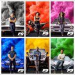 『ワイルド・スピード9(Fast & Furious 9)』主要メンバーが登場するカラフルなポスター画像も公開!