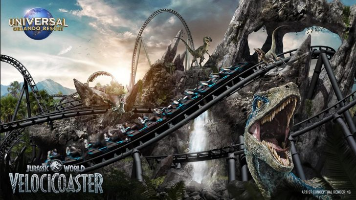 Jurassic World VelociCoaster