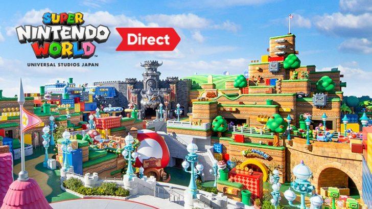 スーパー・ニンテンドー・ワールド™ Direct